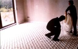 Pavimento isolado com Esferovite