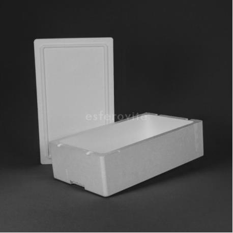 Caixa Esferovite com tampa 500x300x160mm