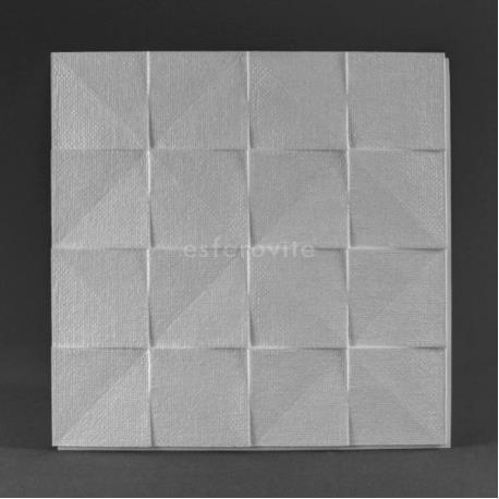 Placa decorativa p/ tecto 500x500mm (m2) mod. DUBLINO