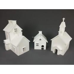 Conjunto Casas + Igreja