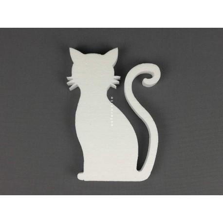 Gato Sentado c/ 205x155x20mm