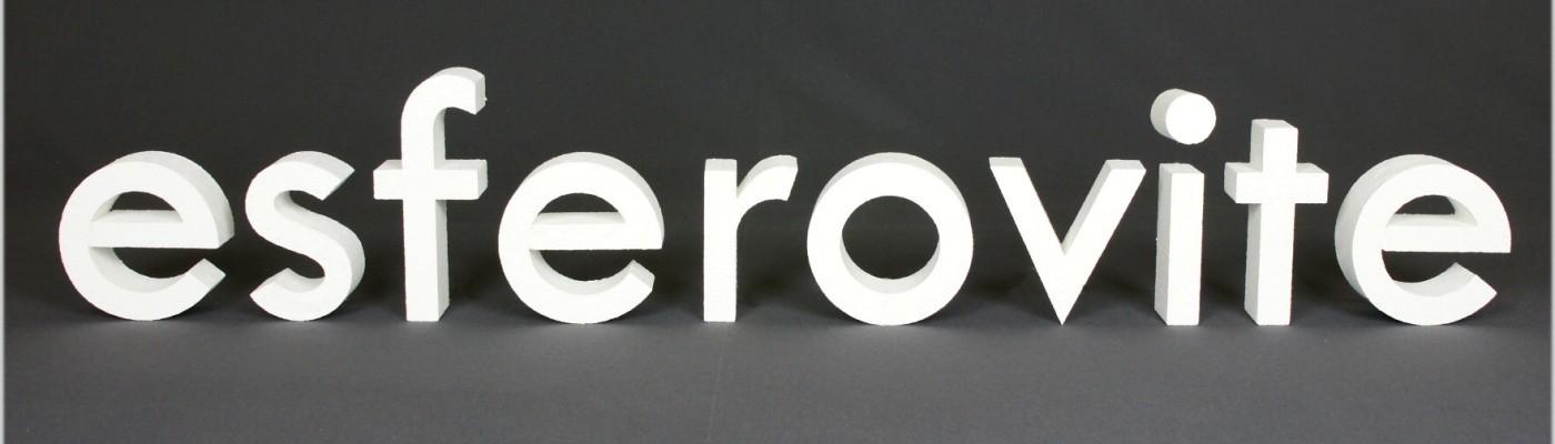 Letras esferovite
